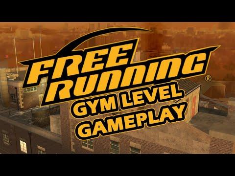 Free Running (2007) - Gym Level Gameplay