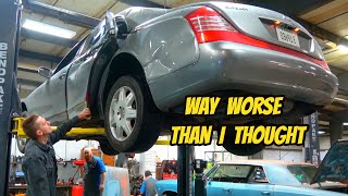 homepage tile video photo for Everything That's Broken On My Wrecked Maybach 57: WAY WORSE THAN I THOUGHT