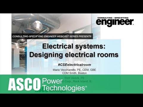 Electrical systems: Designing Electrical Rooms