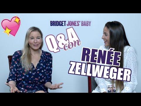 Q&A CON RENÉE ZELLWEGER!! (BRIDGET JONES) - @paulagonu