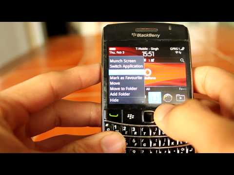 Official Blackberry Bold 9700 OS 6.0 (HD)