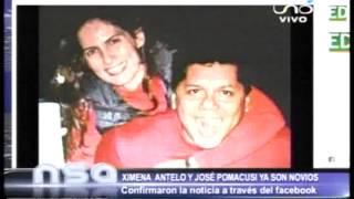 XIMENA ANTELO Y JOSE POMACUSI EL EX DE MARIDO DE SISI AÑES CONFIRMAN QUE SON NOVIOS POR EL FACEBOOK