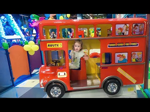 Thumbnail: Learn Colors with Baby Indoor Playground Play Wheels on the Bus School songs Nursery Rhymes for Kids