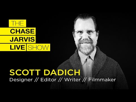 Gut, Head + Heart Alignment - Scott Dadich | Chase Jarvis LIVE