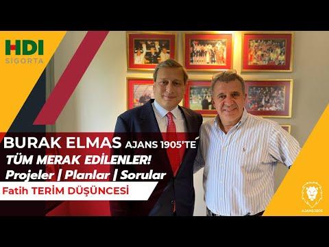 Başkan Adayı Burak Elmas Ajans 1905'te | Galatasaray'ın Geleceği | Projeler | Pl
