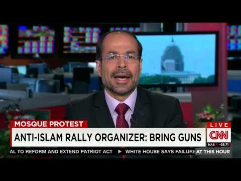 Video: CAIR Director Nihad Awad on CNN to Discuss Anti-Islam Protest at Arizona Mosque