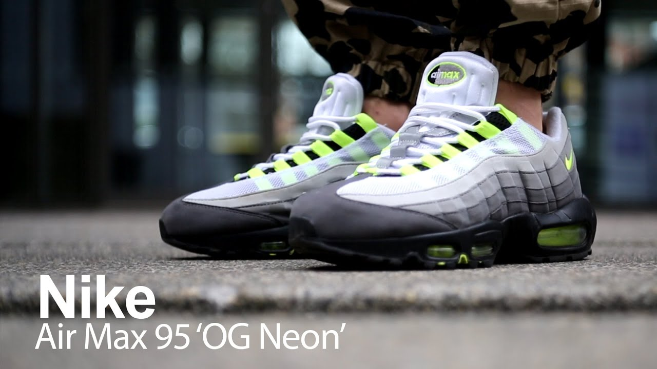 official photos a3921 0b950 'On Foot Review' Nike Air Max 95 OG Neon 2015