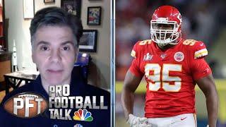 PFTPM: Chris Jones willing to sit out, Yannick Ngakoue still wants trade (FULL EPISODE)   NBC Sports