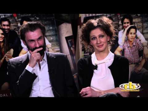 Fabrizio Gifuni e Ksenia Rappoport, intervista, Noi 4, RB Casting