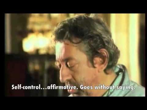 "Serge Gainsbourg ""No Comment"" English subtitles"