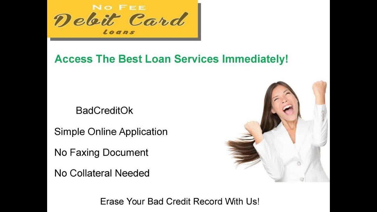 online debit card loans
