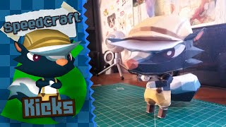 Animal Crossing New Leaf Papercraft ~ Kicks ~