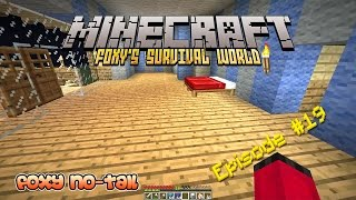 Minecraft Survival - How to Decorate your Bedroom [19]