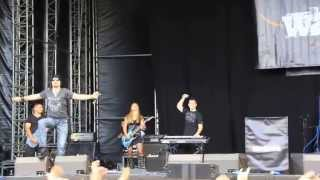 Download WARHAWK - Men of the God (live @ Masters Of Rock 2013) MP3 song and Music Video