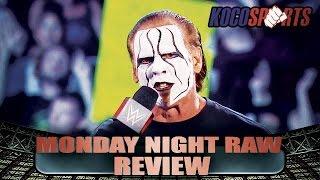 "KocoSports - ""WWE Monday Night Raw"" Review - 8/31/15 - (Sting, Team 3D & Diva's Beat the Clock)"