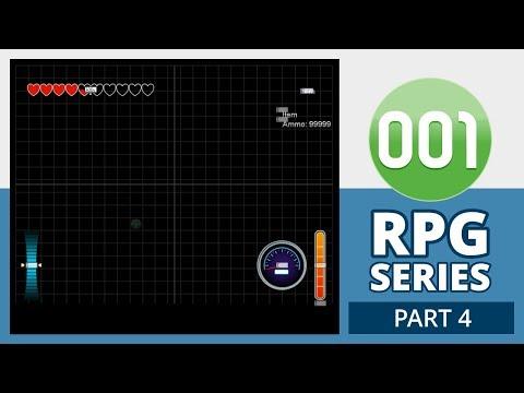 001 Game Creator Tutorial | RPG - Menus/HUD (Part 4/5)