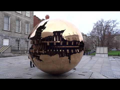 The Berkeley Library Sphere Within Sphere Dublin Youtube