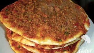 Ev yapimi lahmacun# Aynurun yemek ve pasta tarifleri