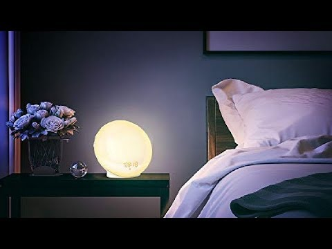 Wake Up Light, LBell Sunrise Alarm Clock Review, Totally Customizable and Easy!
