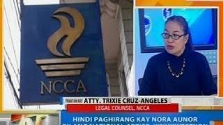 NTG: Hindi paghirang kay Nora Aunor bilang national artist, kinukwestyon