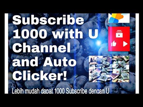Cara nak dapatkan 1000 Subscribe 2jam!