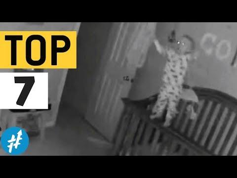 Bayi Kerasukan ! 7 Momen MENYERAMKAN Yang Tertangkap Kamera