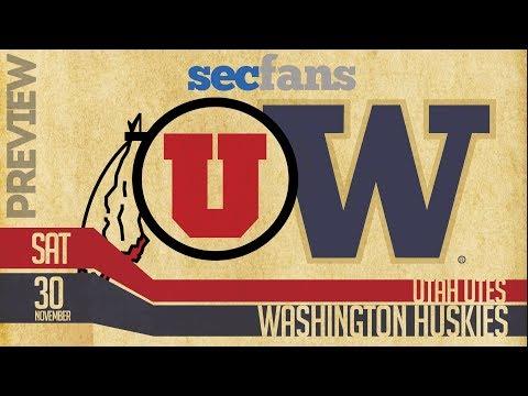 PAC 12 Championship: Washington vs Utah Preview & Predictions - College Football 2018