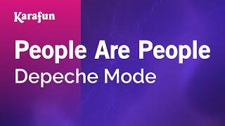 Karaoke People Are People - Depeche Mode *