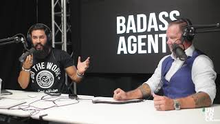 """Andy Dane Carter is a guest on """"Badass Agent"""" with A.Z. Araujo"""