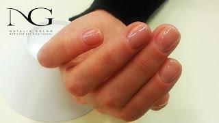Как отодвинуть и очистить кутикулу / How to push back the cuticle and clean