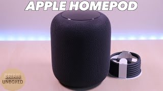 Apple HomePod - Review & Sound Sample