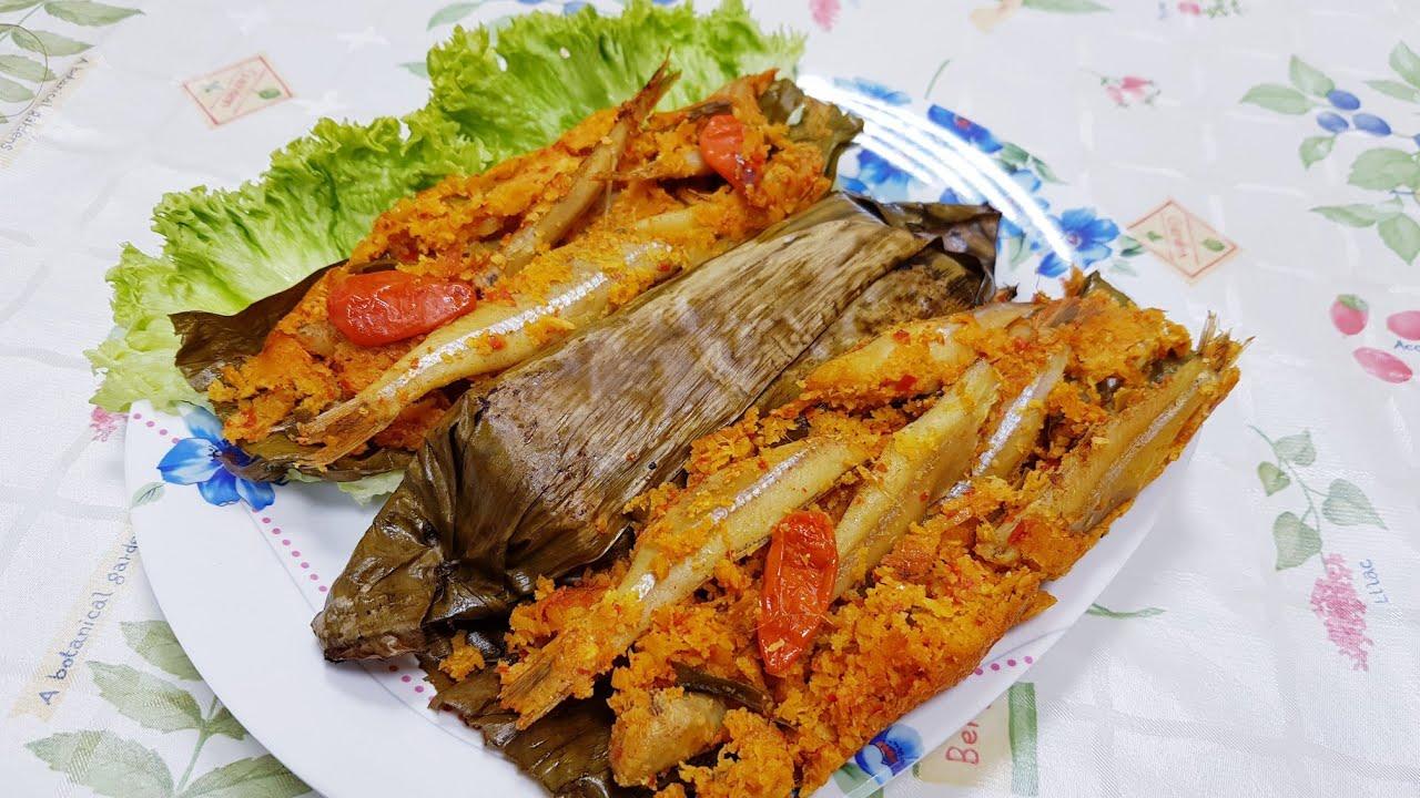 resep pepes ikan teri