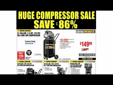 Harbor Freight High Power Discounts & Responding To E-Mails (Expires 9/2/18)