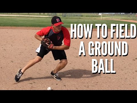 How to: Field a Ground Ball | Baseball Fielding Tips