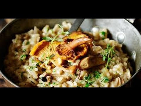 how to make mushroom risotto jamie oliver youtube. Black Bedroom Furniture Sets. Home Design Ideas