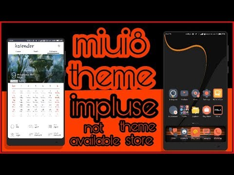 miui8 miui9 3rd party theme not available theme store impluse