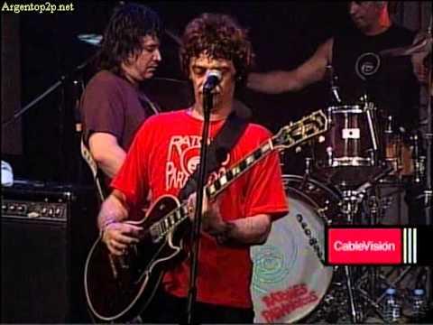 Ratones Paranoicos en vivo ( auditorio de cablevision)