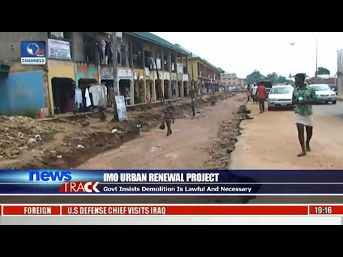 Imo Urban Renewal Project: Residents Criticise Govt