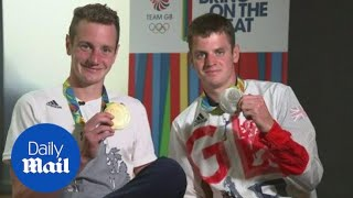 Alistair and Jonny Brownlee on their 'sibling rivalry'. - Daily Mail