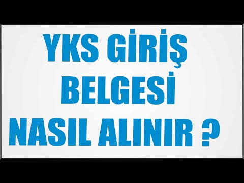 YKS GİRİŞ YERLERİ AÇIKLANDI !!!