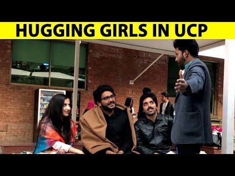 Hugging Girls in UCP With Twist - Lahori PrankStar