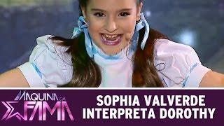 Máquina da Fama (22/06/15) - Desafio: Sophia Valverde interpreta Dorothy