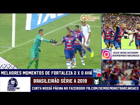 Melhores Momentos de Fortaleza 2x0 Avaí 13/07/2019
