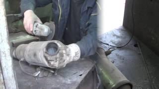 Удаление сажевого фильтра на VW Crafter