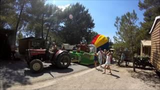 Camping - Les pinèdes du Luberon - Parade char