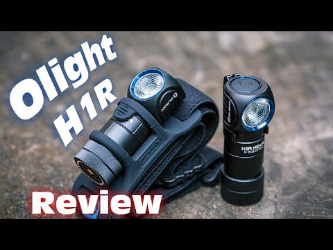 Olight H1R Nova rechargeable headlamp review | The best flashlight for EDC?