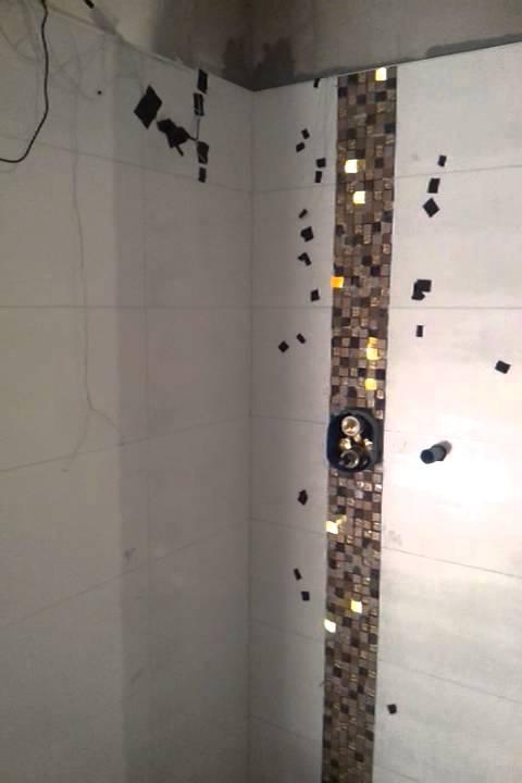 led hinter mosaik fliesen in der dusche - YouTube - dusche fliesen