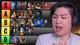 Рейтинг КАЖДОГО персонажа Mortal Kombat MOVIE !! (ОБНОВЛЕННЫЙ список уровней)