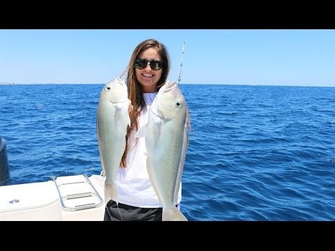 Going DEEP For The Meat (Tile Fish Catch And Cook With Brook #11!)