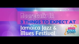 Three Things to Expect at #JaJazz - tough foot back/fan boy behaviour/friending strangers